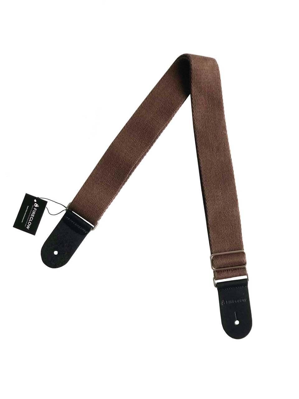 FIREGLOW Guitar parts & Accessories Strap series CTW002BR (Brown)