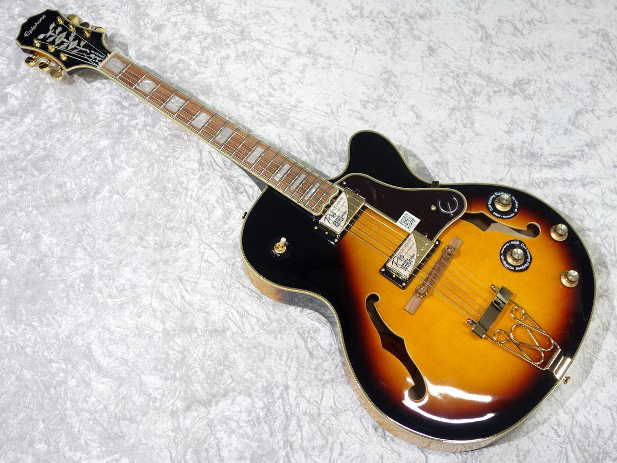 Epiphone Joe Pass Emperor II Pro Vintage Sunburst: Shopping