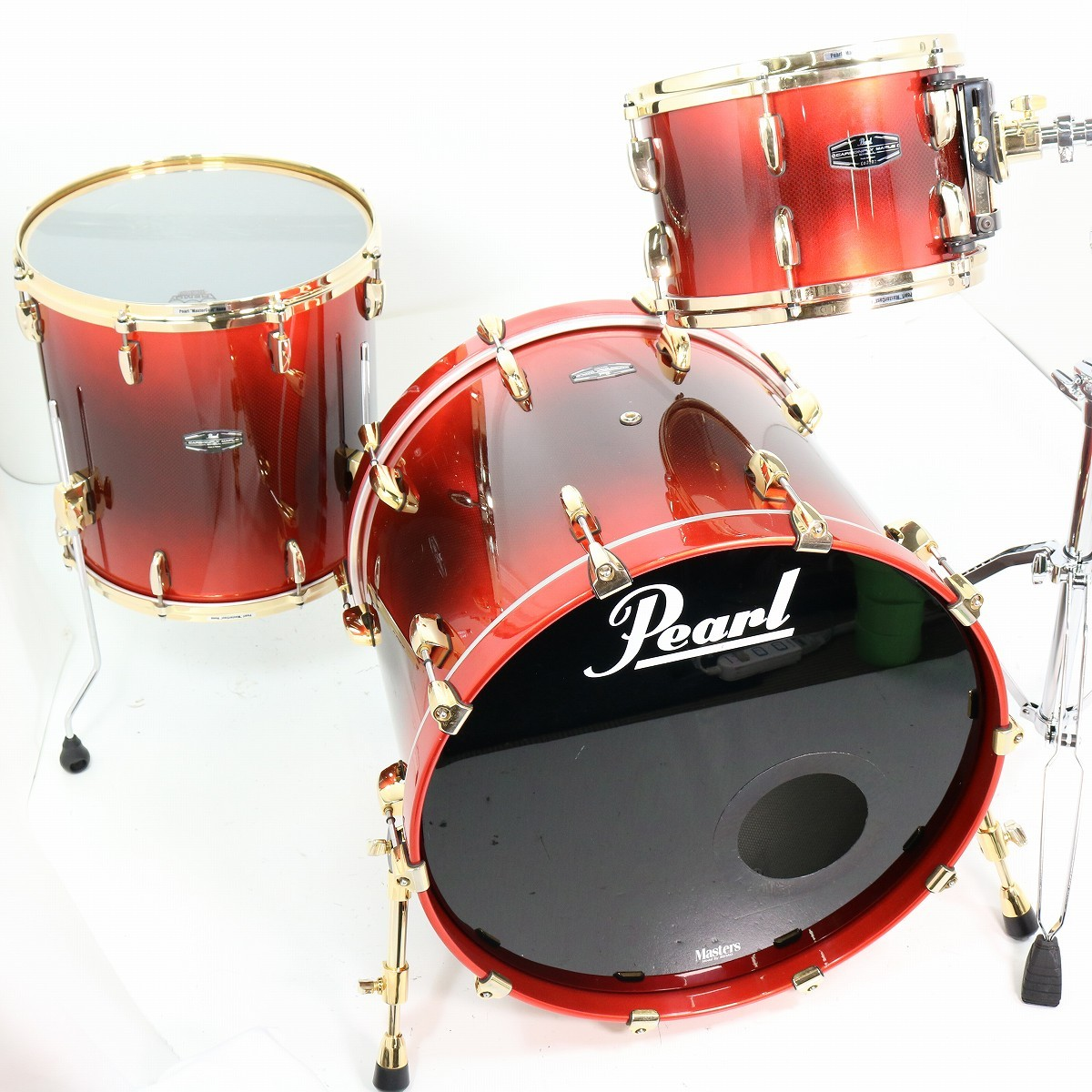 Pearl Carbonply Maple 22BD CMN RC 3点セット カーボンプライメイプル 【SHIBUYA_WEST】