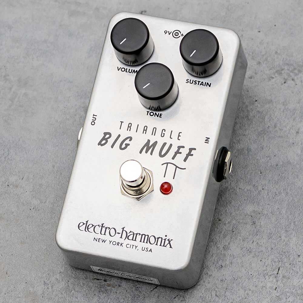 Electro-Harmonix Triangle Big Muff Pi [long-awaited reprint!]