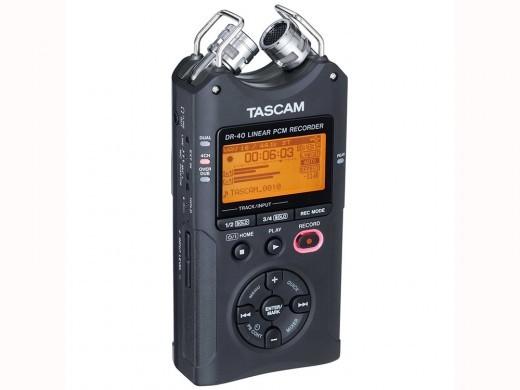 TASCAM DR-40版本2-J(日语对应版本)★线性PCM记录器