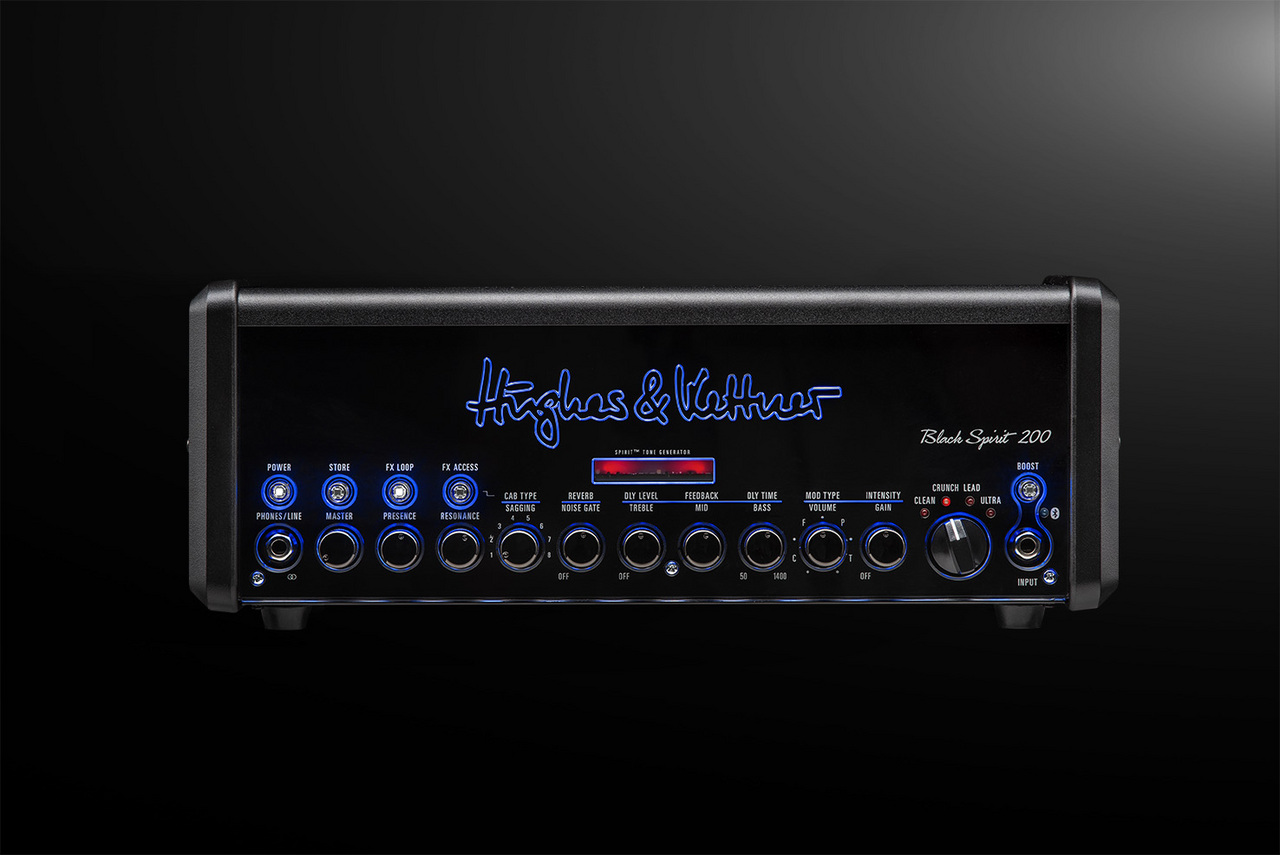 Hughes & Kettner Black Spirit 200 - storefront display in! - new ships same day OK [purchase special Studio T-shirt + carrying case gift]