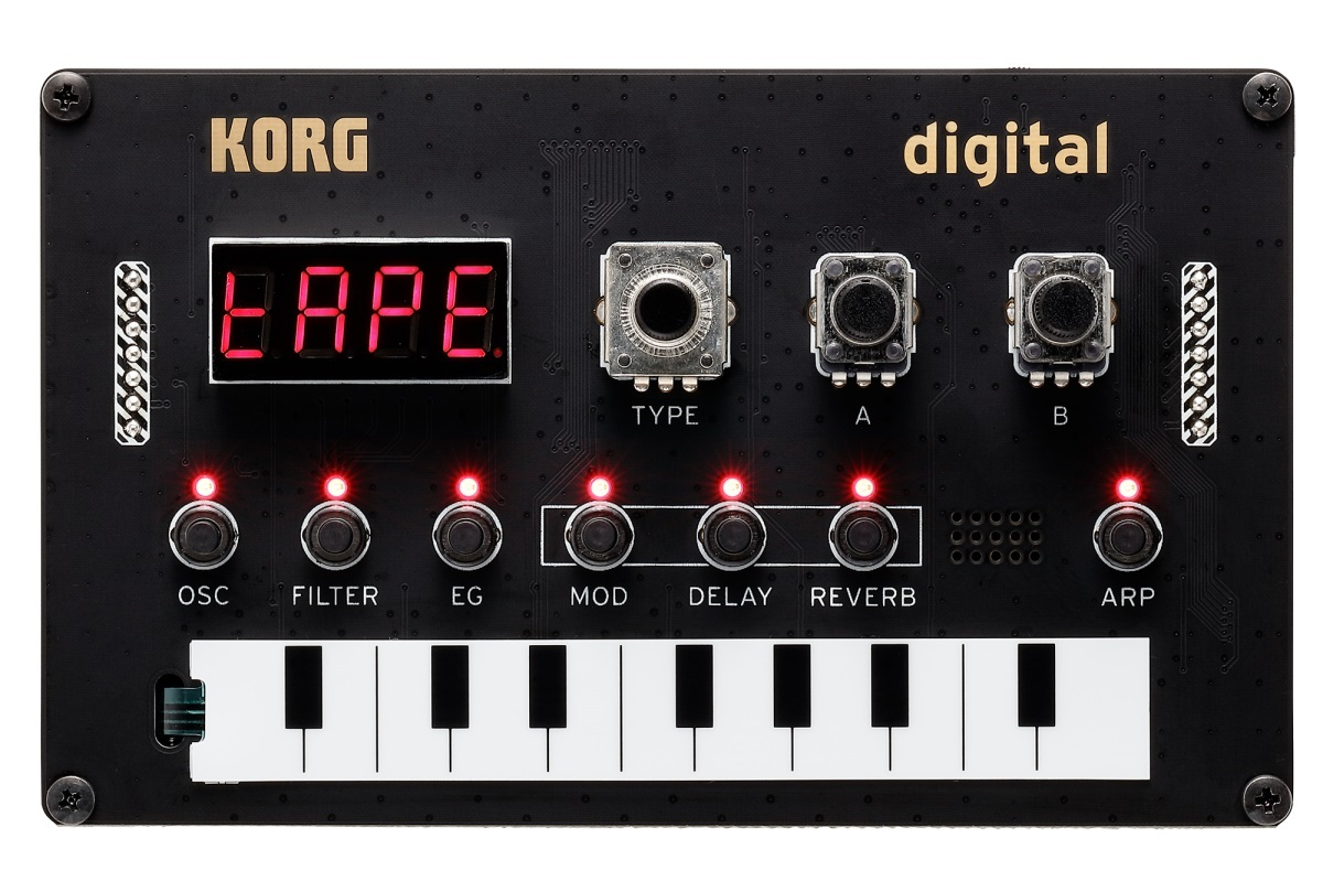 Nu Tekt NTS-1 digital kit 【組み立てて、遊んで、つなげる。新しいシンセの世界を、あなたの手で!!】