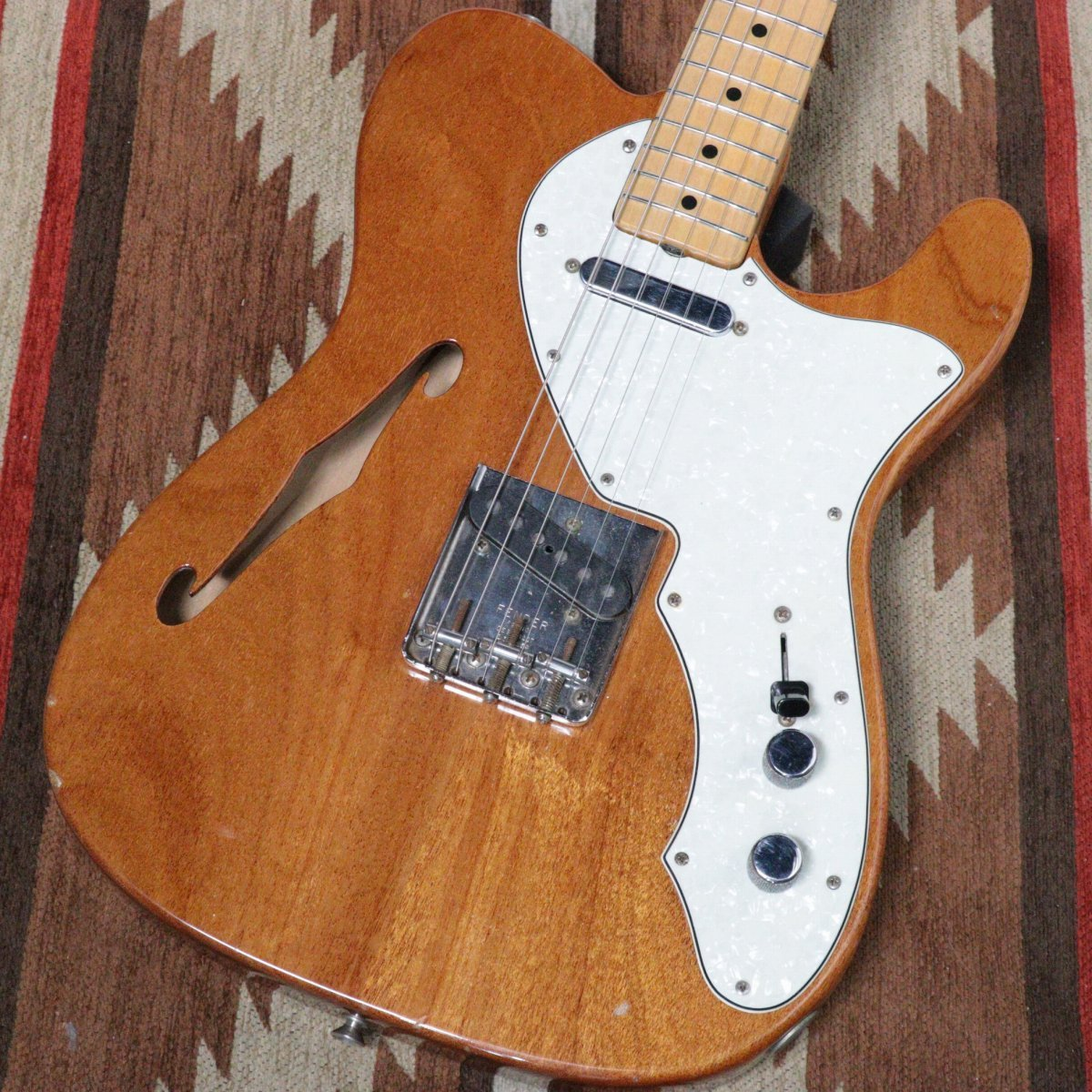 Fender 1969年製 Telecaster Thinline Natural S/N 255846 【御茶ノ水FINEST_GUITARS】
