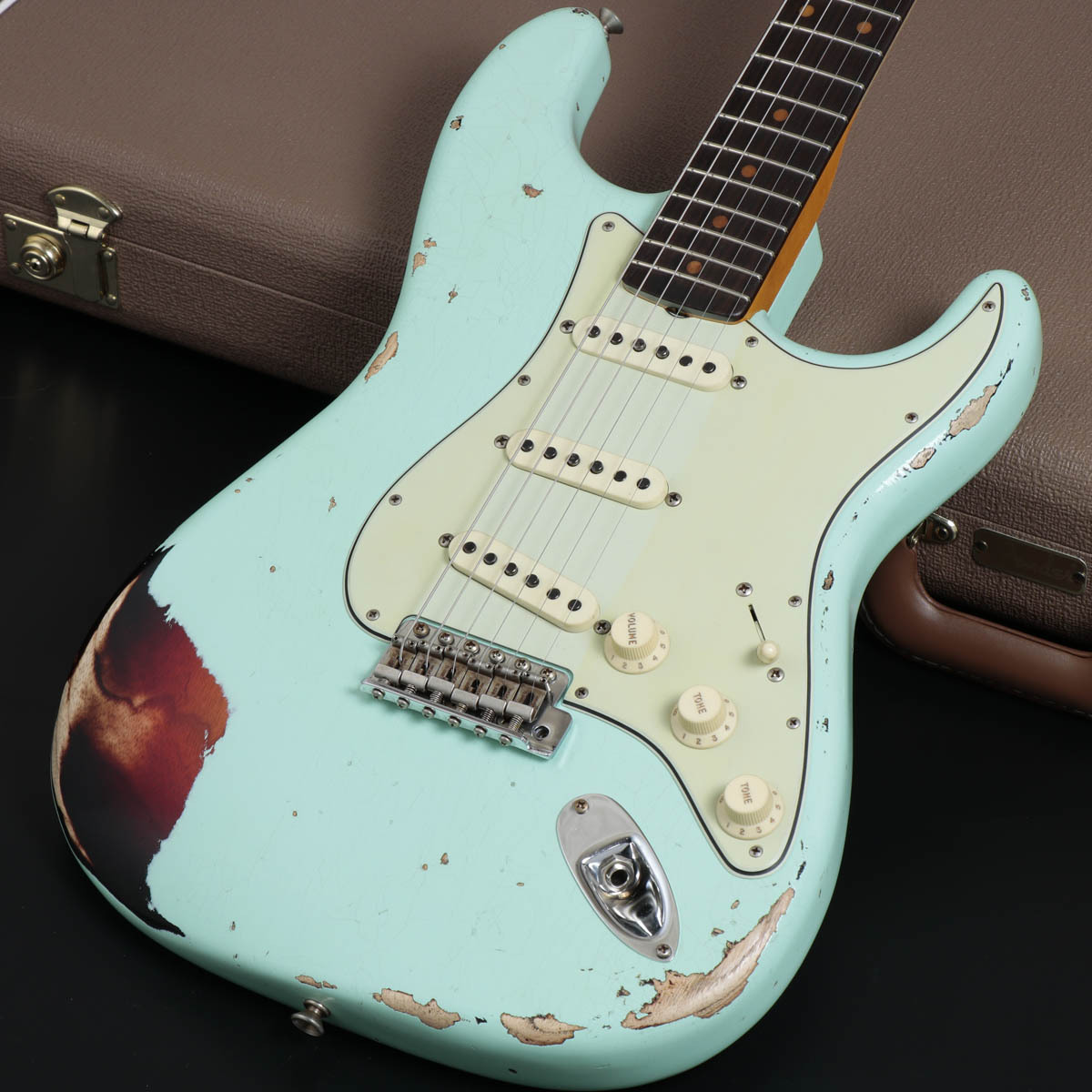 Fender Custom Shop 2018 MID YEAR COLLECTION LIMITED EDITION 1962 ST Heavy Relic Surf Green over 3TS 【御茶ノ水FG】