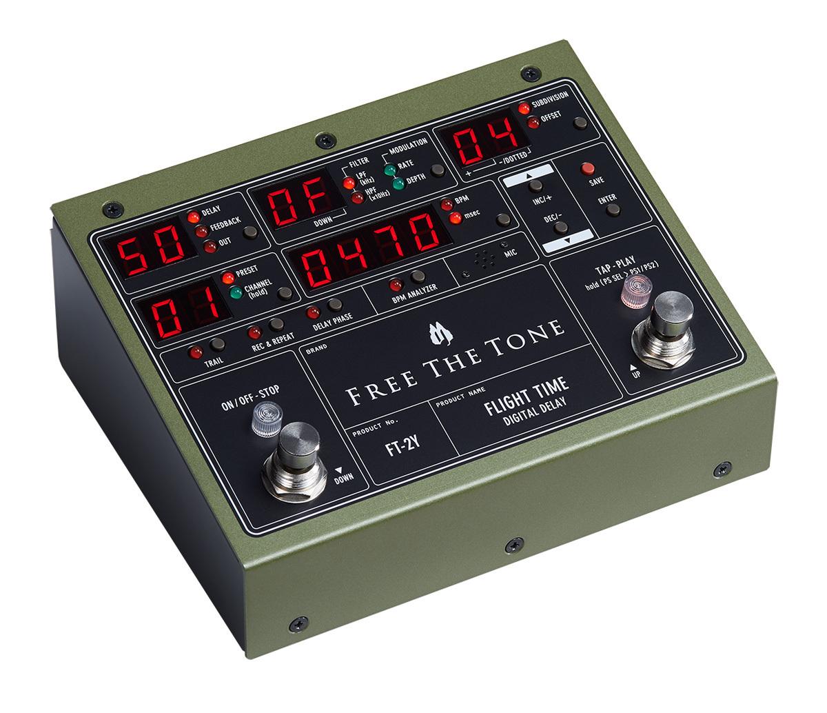 自由音飞行时间FT-2Y DIGITAL DELAY数字延时[涩谷]