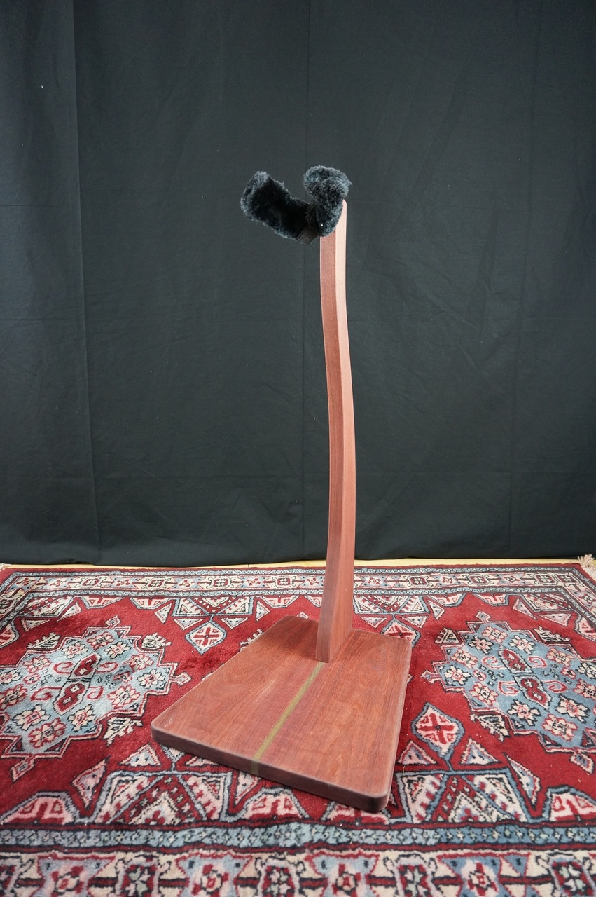 Zither Music Company Z Stand / Ukulele / Purple Heart [is a gem !! our recommendation had been waiting for such a stand!]