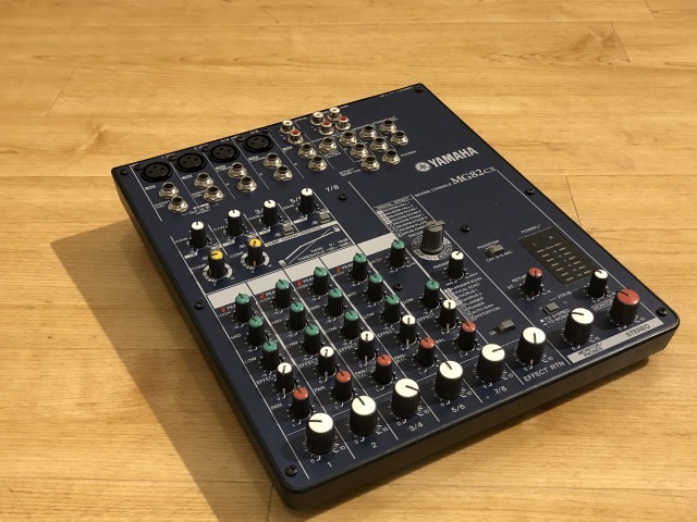 YAMAHA MG82CX [high-quality digital effects built-in mixer!] [Used goods a bargain basement price!]