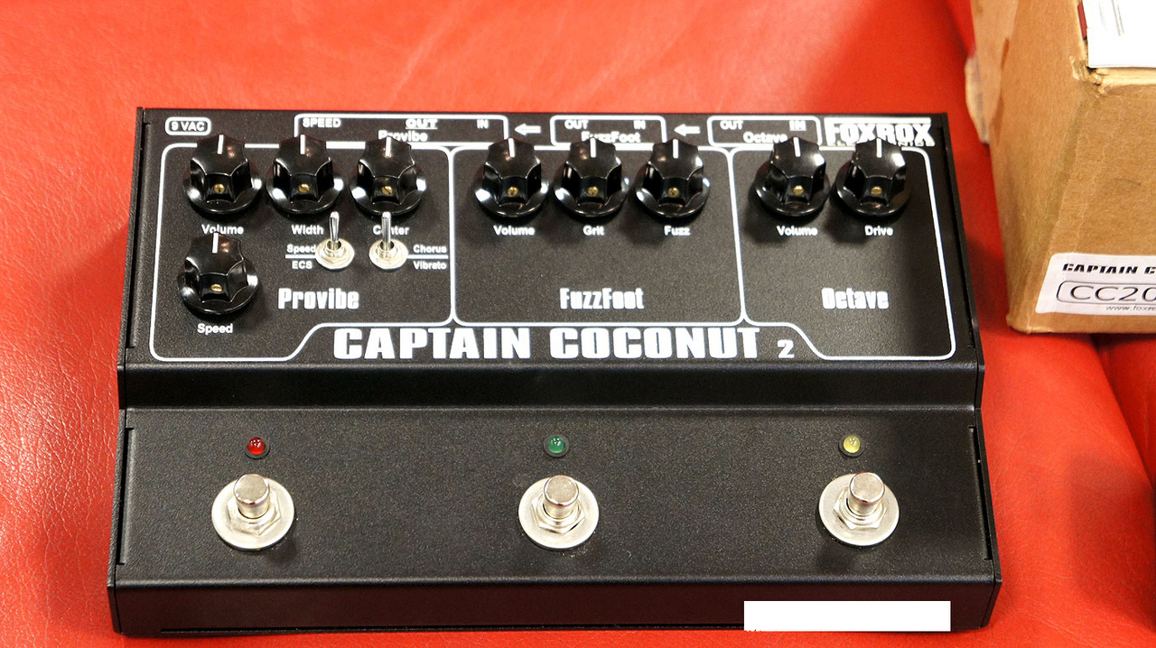 FOXROX ELECTRONICS CAPTAIN COCONUT 2