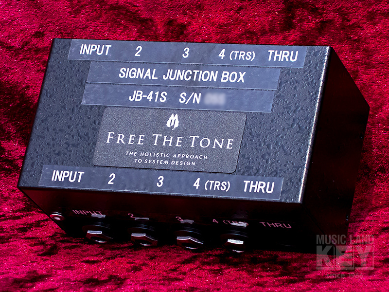 Free The Tone JB-41S SIGNAL JUNCTION BOX []