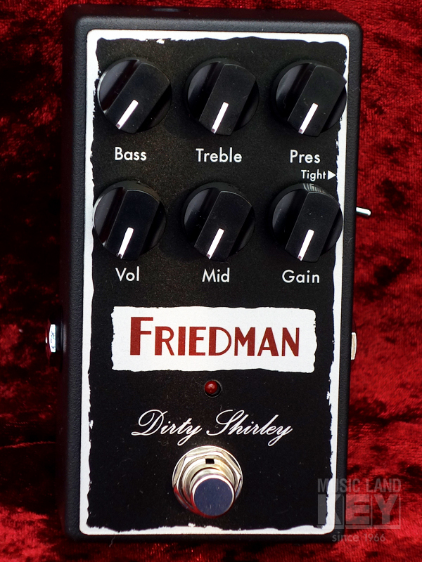 [Drive pedal !! boasts outstanding response capabilities] Friedman DIRTY SHIRLEY