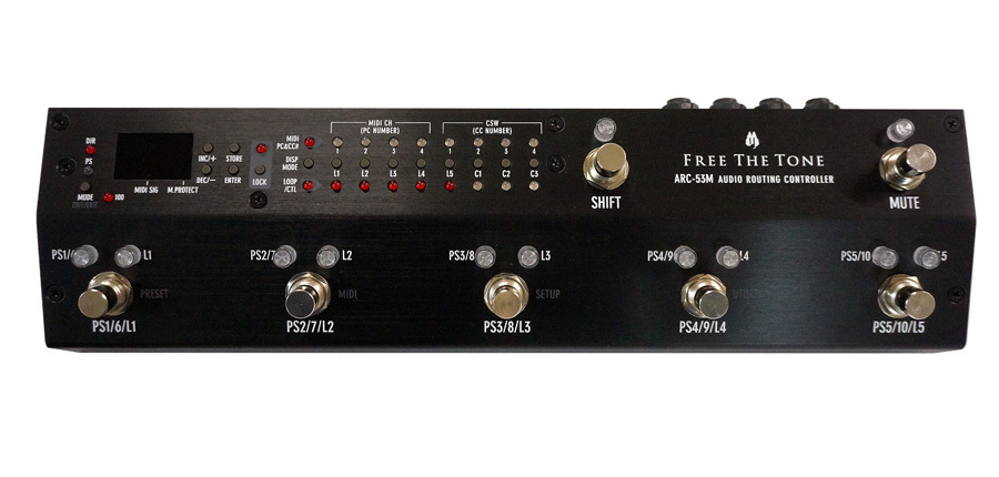 Free The Tone ARC-53M Black Audio Routing Controller [Yokohama]
