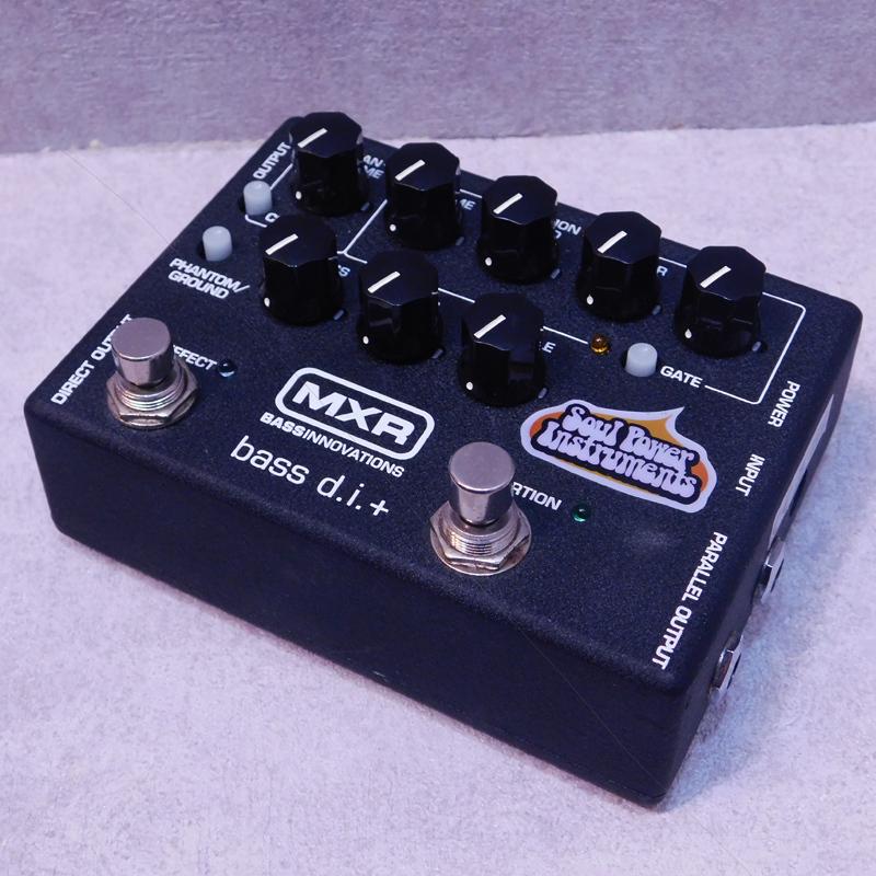 灵魂电力仪表MXR低音DI + 190 MOD。