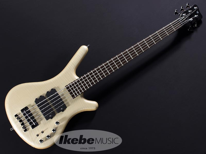 "Warwick Teambuilt GPS Corvette$$ 5st ""Flame Maple Top"" (Natural Satin) 【特価】"