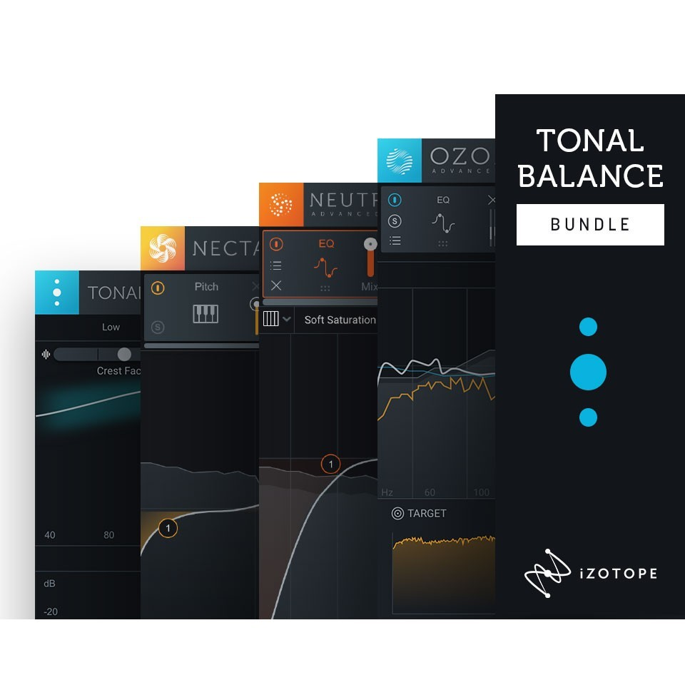iZotope 【ブラックフライデー】Tonal balance bundle CRG from any iZotope product