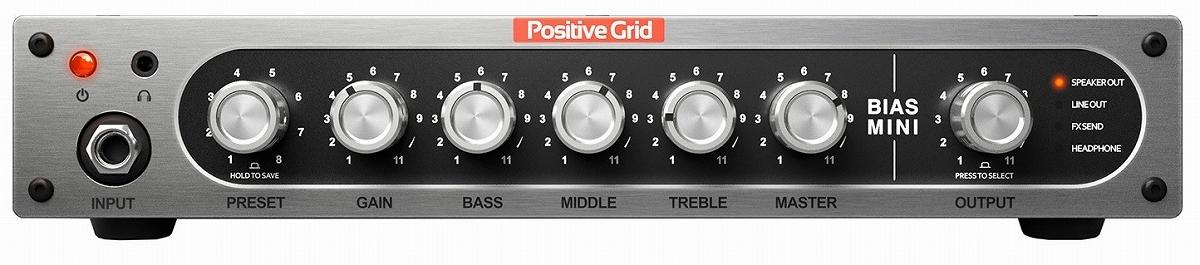 Positive [Get the BIAS Twin Pedal] Grid BIAS Mini Guitar [Shinjuku]