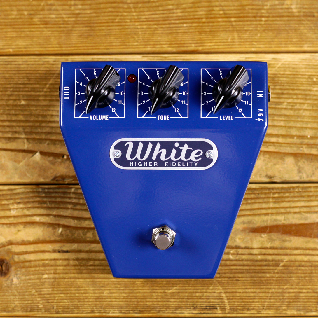Satellite amplifier White Pedal