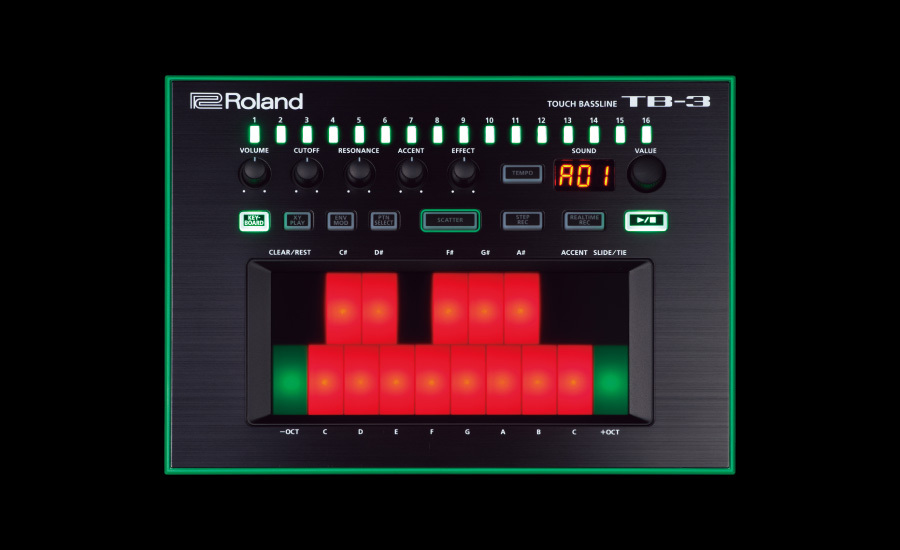 Roland TB-3 [over-the-counter exhibit] AIRA series base machine ★ current product ★