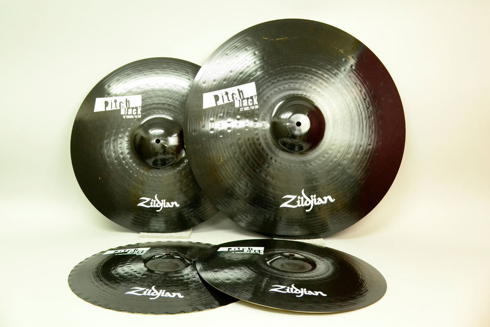 Zildjian NAZLPBSET cymbals BOX set PitchBlack exhibit good bargain