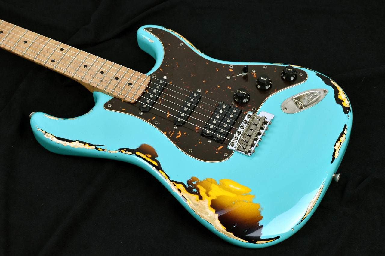 Xotic XSC-2 - SeaFoam Green Over 2TB Heavy Aged-