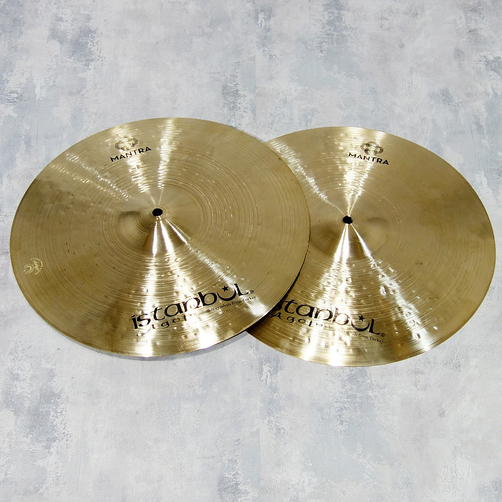 """ISTANBUL AGOP Cindy Blackman MANTRA HHats 15 """"[rich overtones and attack sound with volume]"""