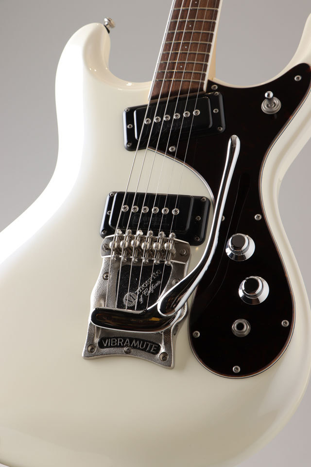 Mosrite Super Custom 65 Pearl White