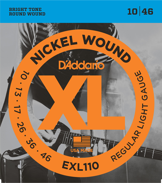 D'Addario XL Nickel Round Wound EXL110
