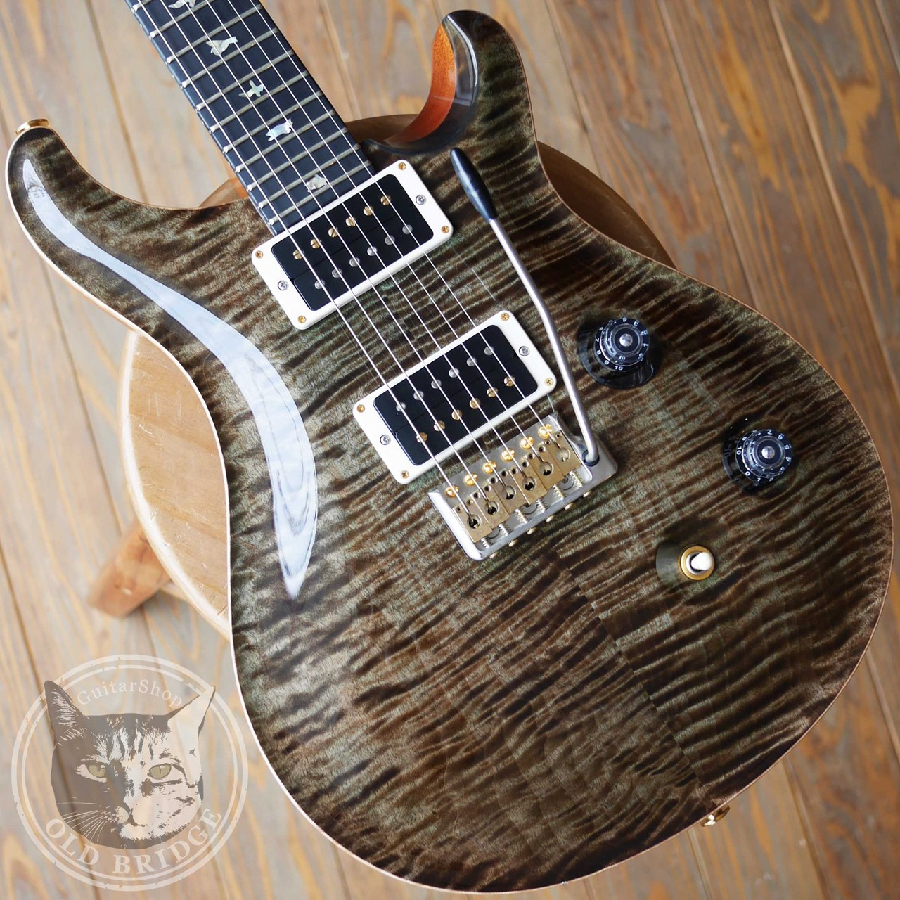 Paul Reed Smith (PRS) Custom 24 Mash Green 2016 Ebony