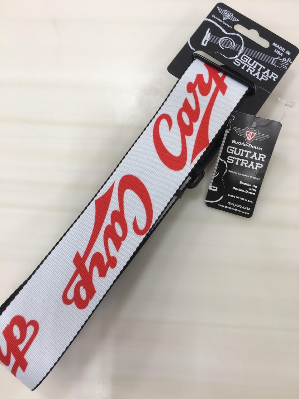 Buckle Down (Carp strap) Carp strap / Carp logo / white