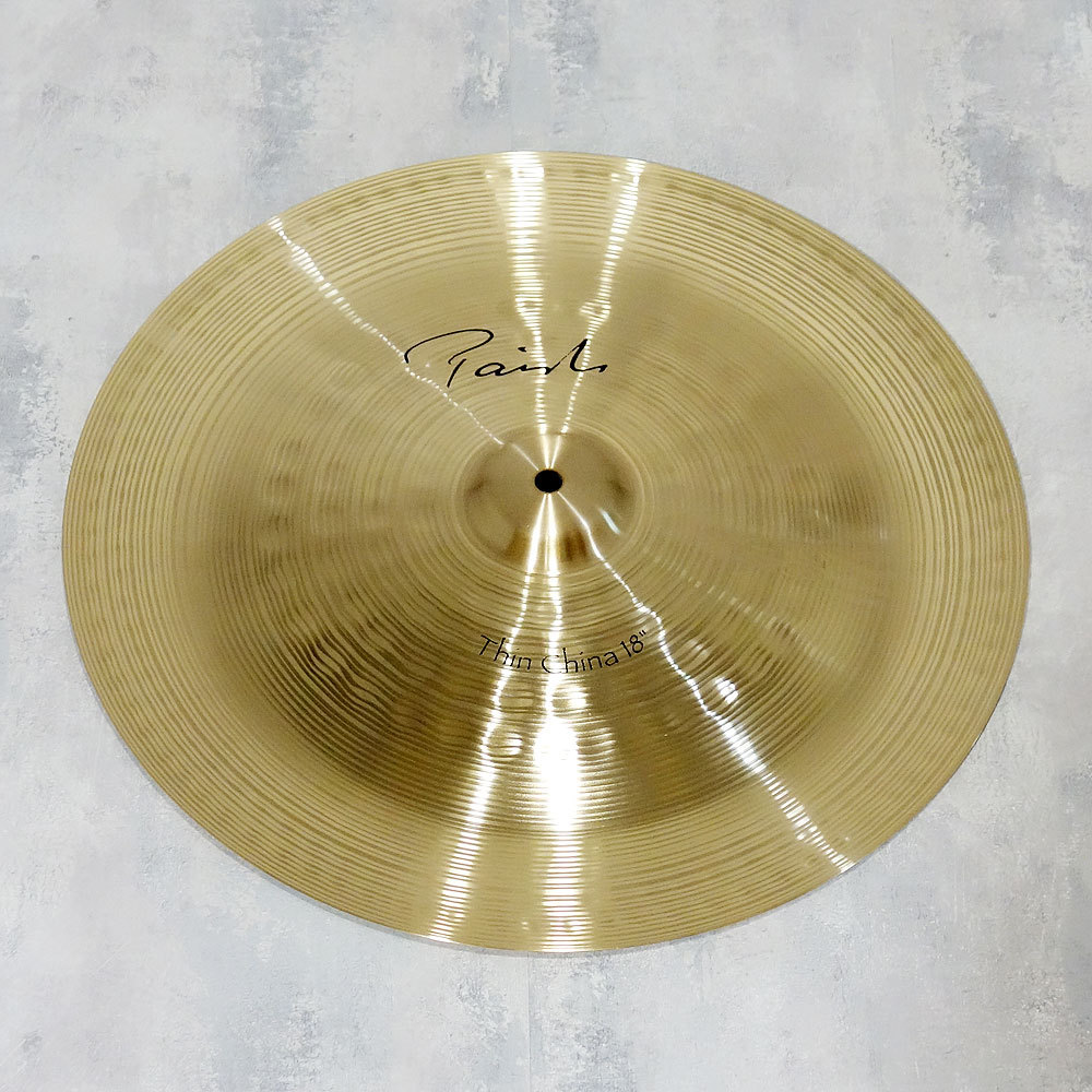 "PAiSTe Signature ""the Paiste"" Thin China18 ""[popular Zapai China!] [Limited bargain basement !! 44% OFF !!]"
