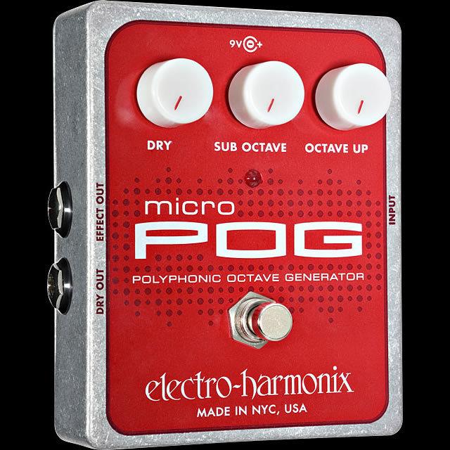 Electro-Harmonix ☆箱ボロ・キズ有特価☆    Micro POG   【☆期間限定!~9/30(月)まで!☆】