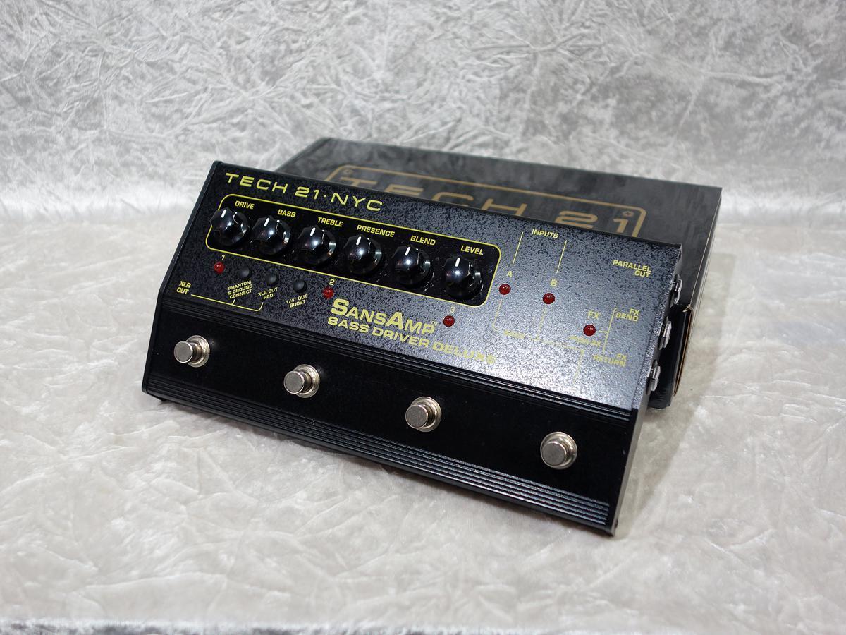 Tech 21 Sans Amp Bass Driver Deluxe