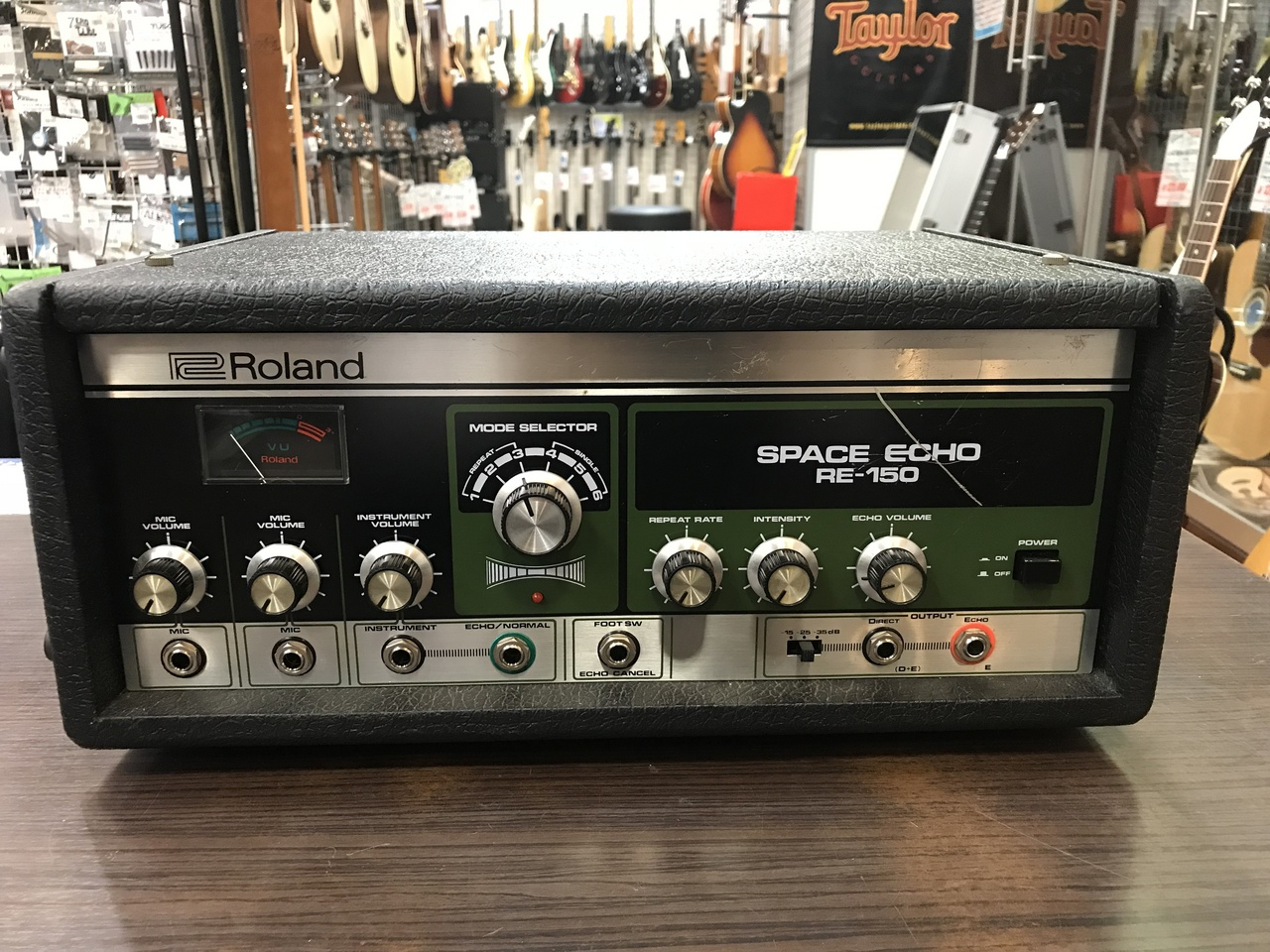 Roland RE-150 Space Echo [used article vintage] [tape echo]