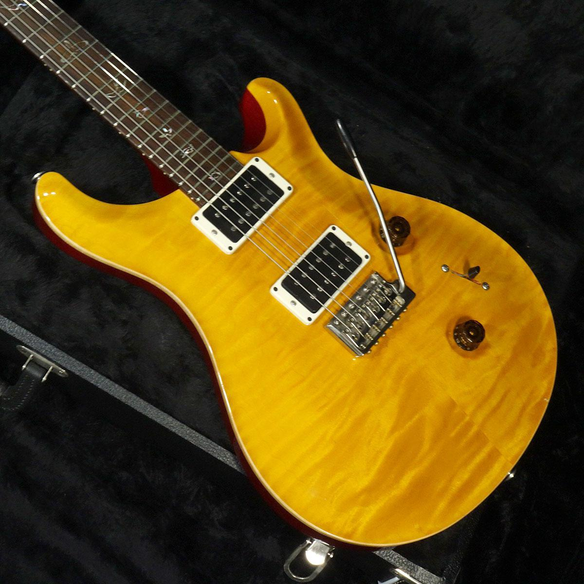 Paul Reed Smith(PRS) Custom 24 Woodlibrary Vintage Yellow