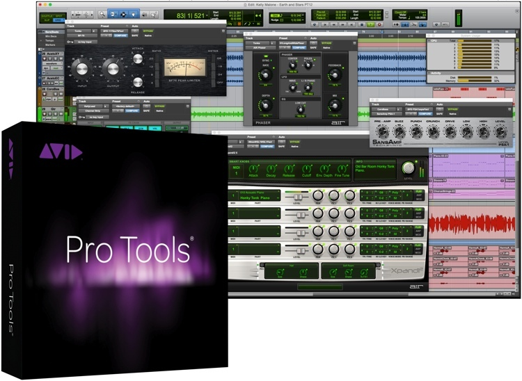 Avid Protools permanent license iLok Bundle