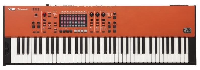 VOX CONTINENTAL-73 専用キーボード・スタンドやペダル付属