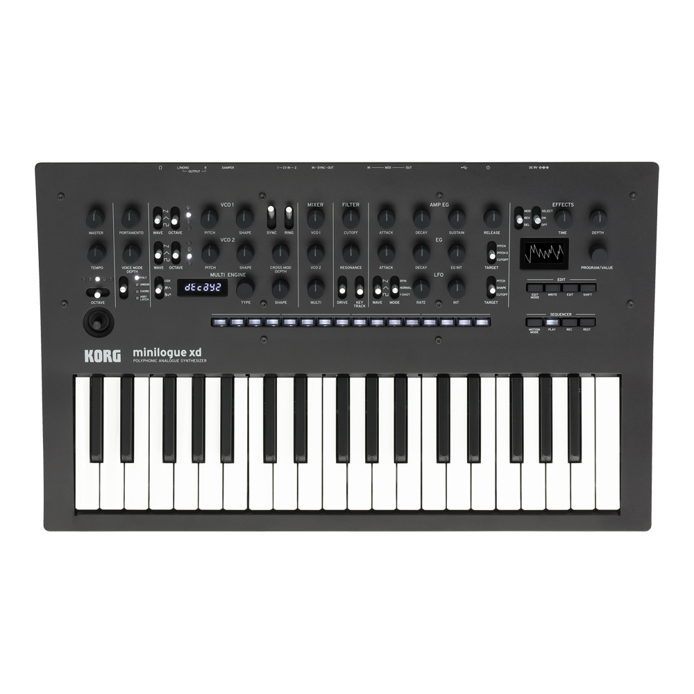 KORG minilogue xd [2/23 Release] [NEW model !! new generation of analog synthesizers! Of evolved]