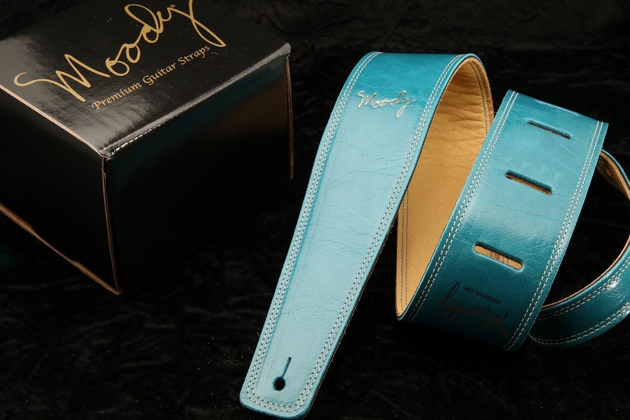 "moody 2.5 ""Leather / Leather STD [SapphireBlue / Cream]"