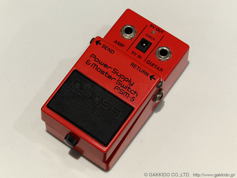 BOSS PSM-5 Power Supply & Master Switch # AG709XX