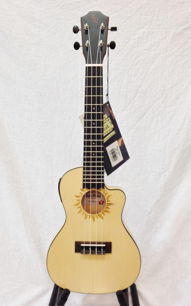 Baton Rouge V10-CCE SUN [exhibition replacement Specials] [Electric ukulele]