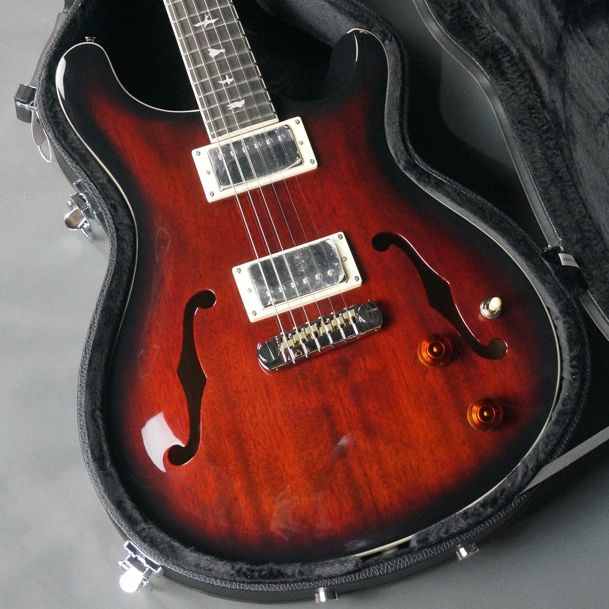 Paul Reed Smith(PRS) SE Hollowbody Standard / Fire Red Burst 【フーチーズ・チューンにセットアップいたします!!】