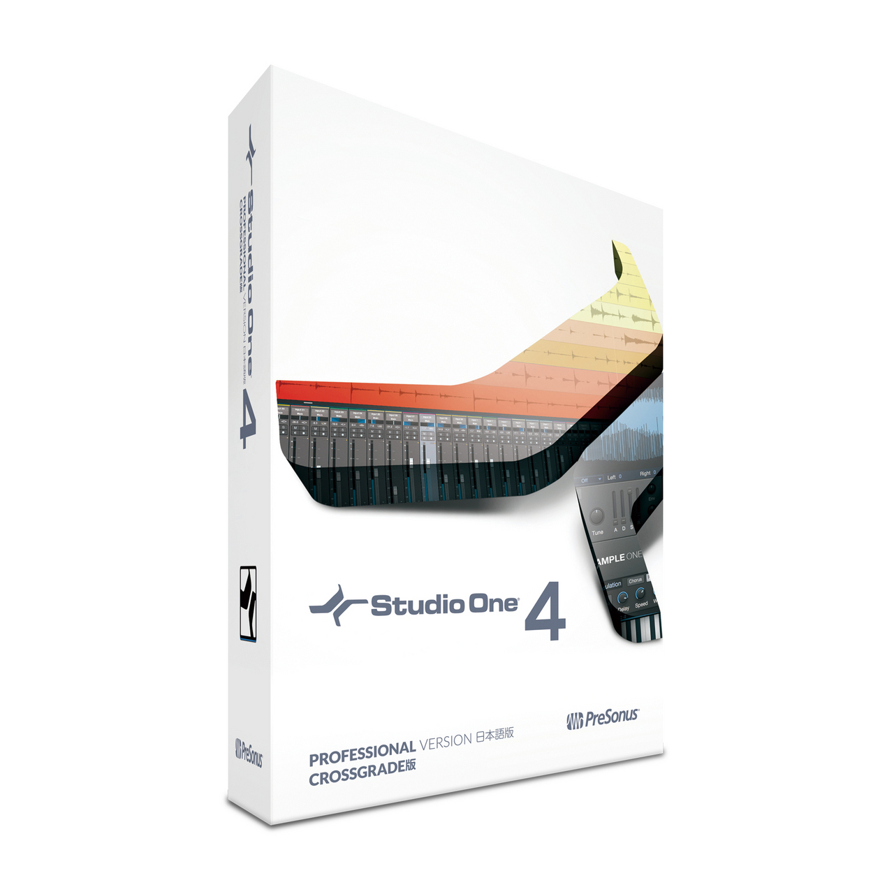 PreSonus Studio One 4 Crossgrade Japanese version (box) [long-awaited major version up!]