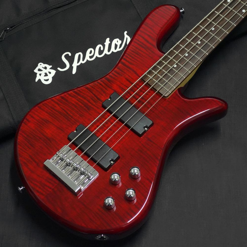 Spector Performer Classic 5 Active Trans Red (Japan Limited)
