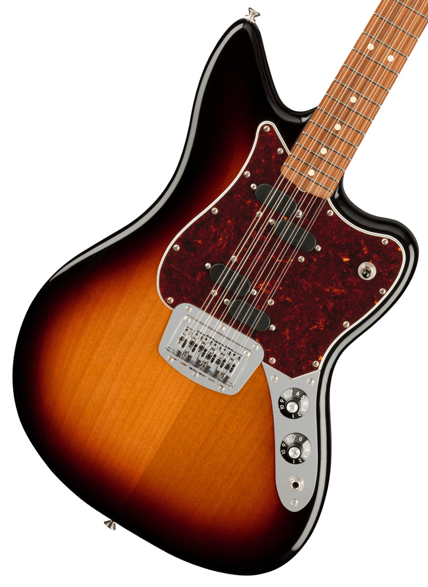 Fender Alternate Reality Collection Electric XII Pau Ferro Fingerboard 3-Color Sunburst