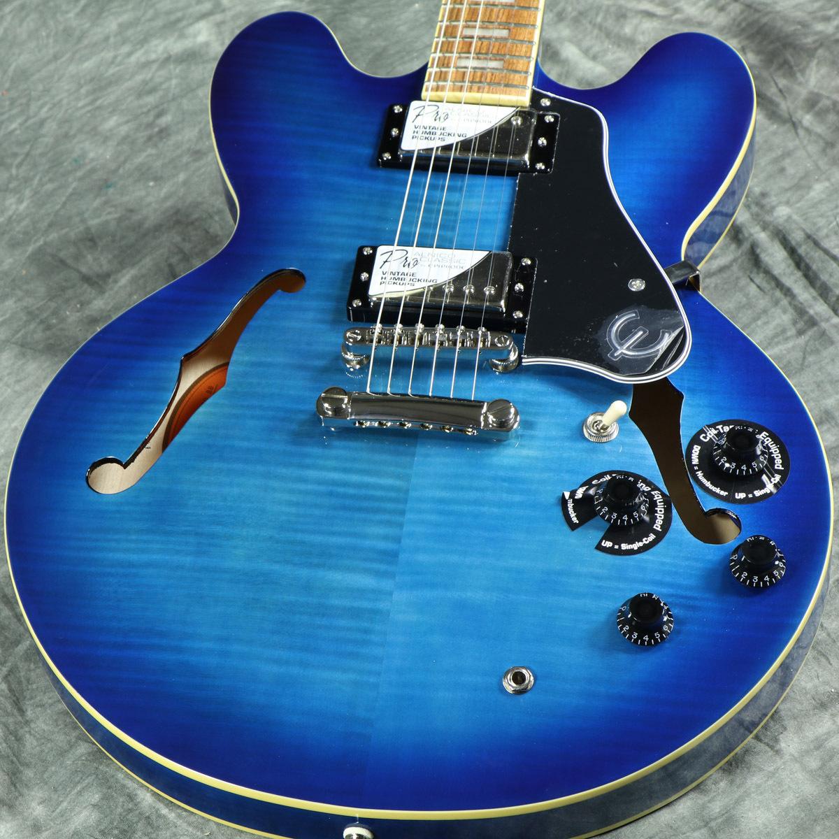 Epiphone Limited Edition ES-335 Pro Blueberry Burst 【WEBSHOP】