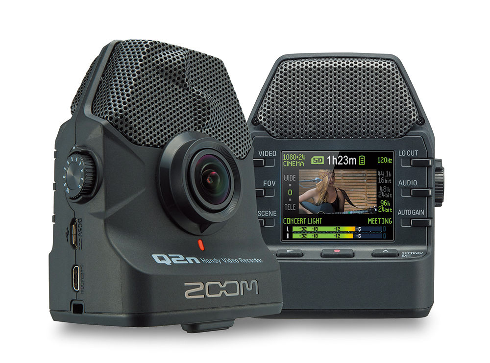 ZOOM Q2N Handy Video Recorder + APQ-2N Accessory Pack Set - you can instant delivery unopened article!]
