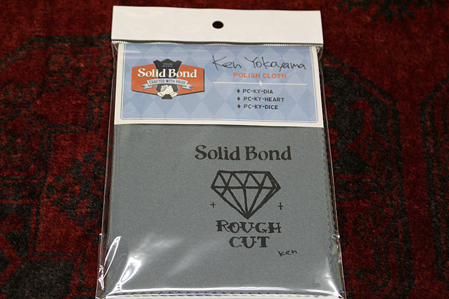 Solid Bond Polish Cloth Diamond / PC-KY-DIA