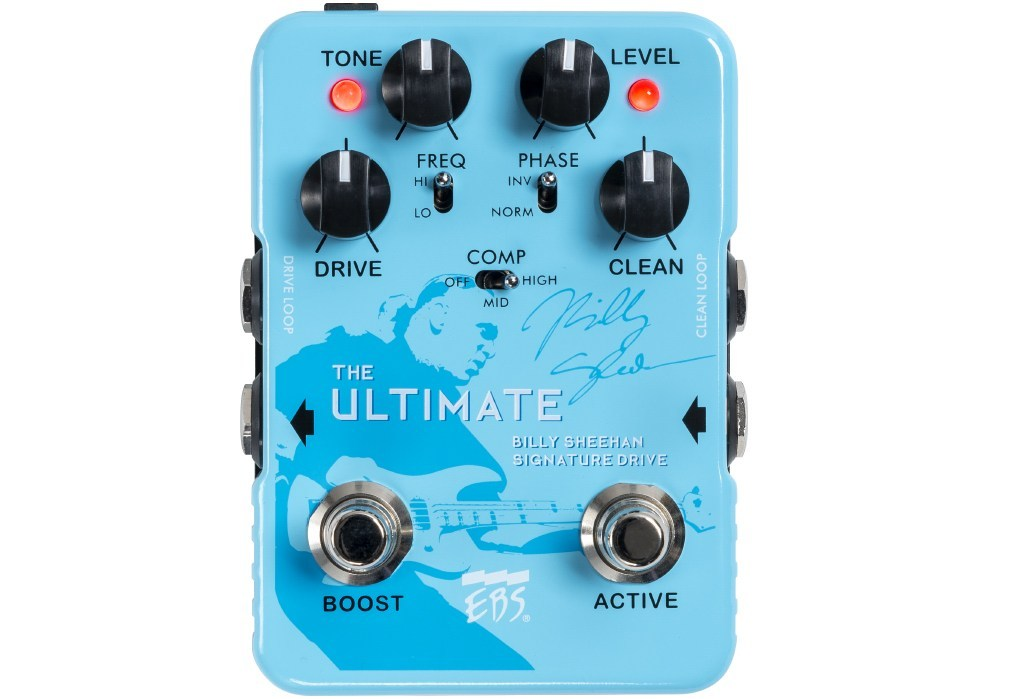 EBS Billy Sheehan Signature Drive ULTIMATE