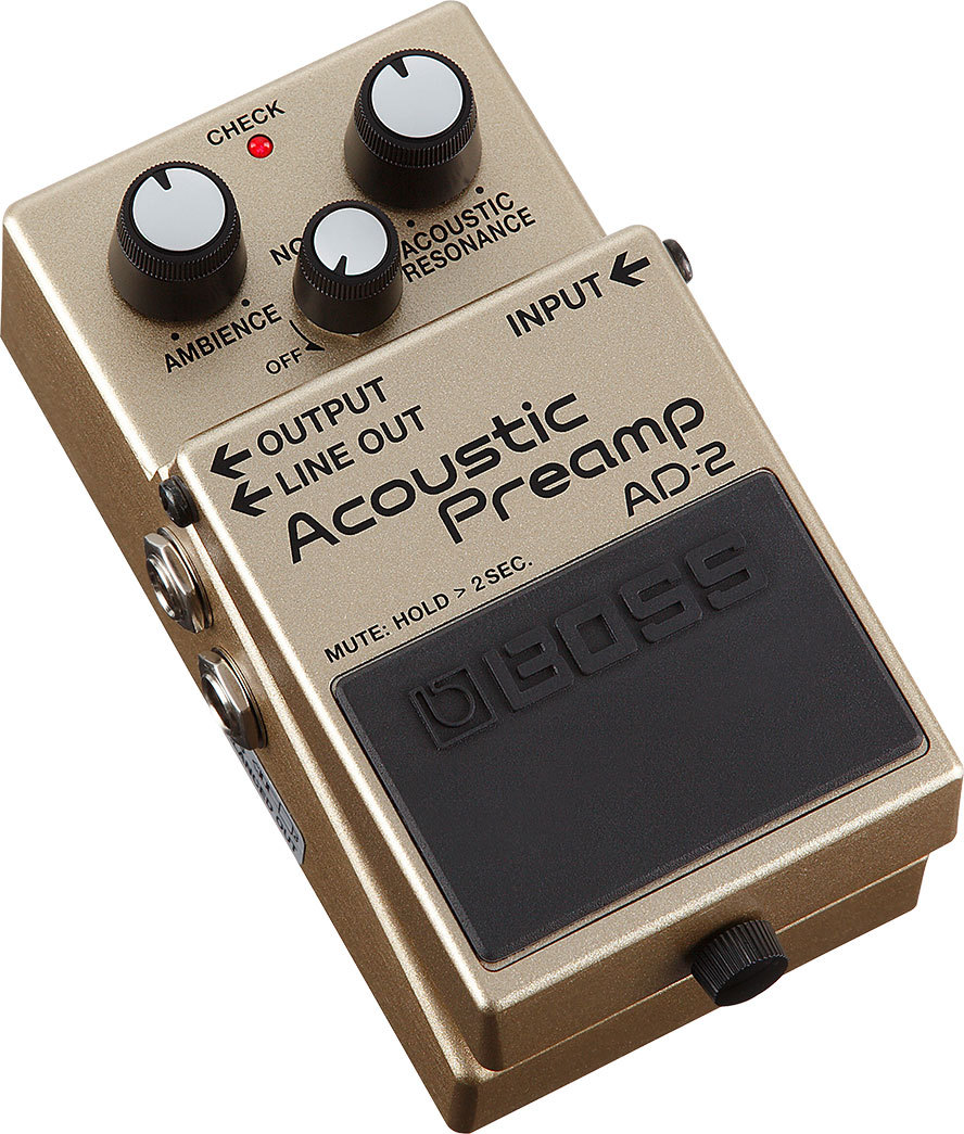 BOSS  AD-2 Acoustic Preamp【プリアンプ】【デジマート限定 +9V電池さらに1つサービス!】