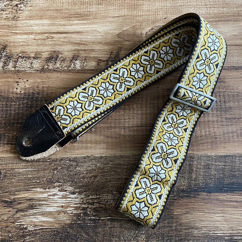 NO BRAND 1960年代製 Vintage Ace Style Guitar Strap